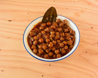 Chole or Chana Masala Stock Images