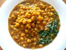 Chole Curry Image Royalty Free Stock Photo