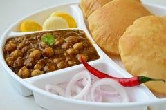 Chole Puri Stock Images