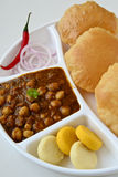 Chole Puri Stock Photos