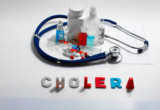 Cholera Royalty Free Stock Images