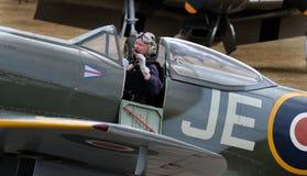 Cholernik, także nazwany Supermarine cholernik wojny światowa dwa wojownik zdjęcia royalty free