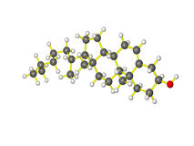 Cholesterol Royalty-vrije Stock Afbeelding