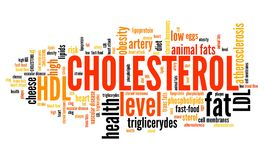 Cholesterol Royalty Free Stock Photography