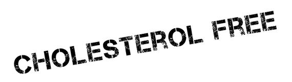 Cholesterol Free rubber stamp Royalty Free Stock Photography