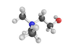 Choline, a water-soluble vitamin involved in many functions incl Stock Photos