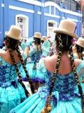 Cholita of Puno Royalty Free Stock Photography