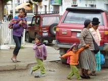 Cholitas Photos libres de droits