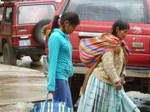 Cholitas Images libres de droits