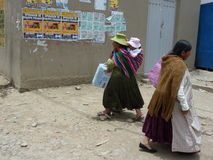 Cholitas Stock Photography