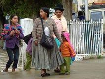 Cholitas Royalty Free Stock Photo