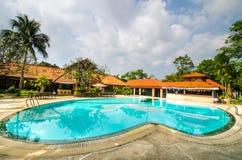 Cholla Pruk Resort. Swimming Pools at Cholla Pruk Resort (Nakorn-Na-Yok Stock Images
