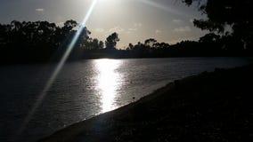 Chollas湖圣地亚哥 免版税库存照片