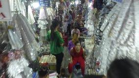 Cholon, рынок в Хо Ши Мин, Вьетнаме акции видеоматериалы