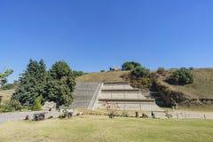 Cholula著名金字塔  库存图片