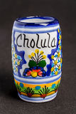 Cholula Ceramic Cup Stock Images