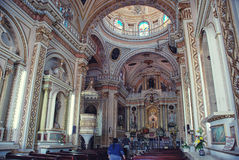 Cholula Church Royalty Free Stock Photos