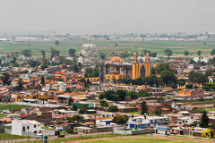 cholula kościół de Mexico rivadabia Zdjęcia Stock