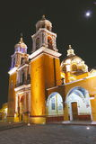 Cholula la nuit V images stock