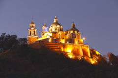 Cholula at night I Stock Image