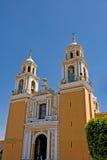 Cholula Puebla (Mexico) Royaltyfri Fotografi