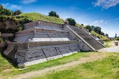 Cholula Pyramid in Puebla, Mexico. Royalty Free Stock Photography