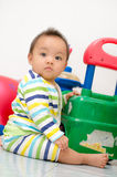 Chomchai Baby looking. Royalty Free Stock Photo