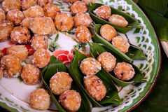 Chomuang (thailändisches Marzipan) Lizenzfreies Stockfoto