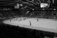 Chomutov, Τσεχία - 29 Μαρτίου 2019: U19 ημιτελικός χόκεϋ πάγου μεταξύ Chomutov και Trin στοκ εικόνα με δικαίωμα ελεύθερης χρήσης