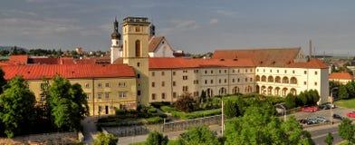 Chomutov-Stadt Stockfotos