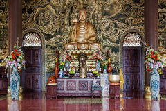 Chon Nguyen Temple. Long Hai, Vietnam (indoor II) Stock Photography