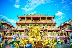 CHONBURI, ΤΑΪΛΑΝΔΗ - 6 ΑΥΓΟΎΣΤΟΥ 2016: Thepsathit Phra Kiti Chaler Στοκ Φωτογραφίες