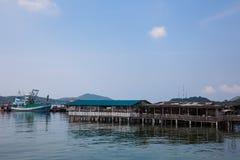 chonburi Таиланд виллы рыбной ловли Стоковые Изображения