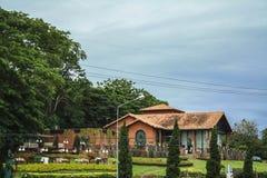 Chonburi - Pattaya, Tailandia, el 25 de junio de 2017: Viñedo de Silver Lake, Pattaya Tailandia Imagenes de archivo