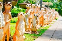 CHONBURI, TAILÂNDIA - 18 de março de 2016: Decoração bonita do jardim Imagens de Stock Royalty Free