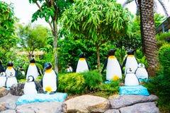 CHONBURI, TAILÂNDIA - 18 de março de 2016: Decoração bonita do jardim Imagens de Stock