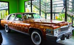 CHONBURI, TAILÂNDIA - 18 de março de 2016: Mostra do museu do carro em Nong Noo Foto de Stock Royalty Free