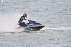 Esquí del jet de la competencia. Fotos de archivo