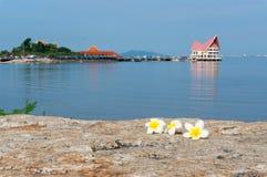 Chonburi, TAILANDIA - settembre 2014: Koh Loi è Fotografia Stock Libera da Diritti