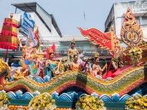Chonburi, THAÏLANDE 13 avril : Festival de Chonburi Songkran images libres de droits