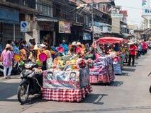 Chonburi, THAÏLANDE 13 avril : Festival de Chonburi Songkran photos stock