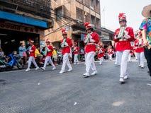 Chonburi, THAÏLANDE 13 avril : Festival de Chonburi Songkran photographie stock libre de droits