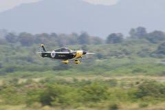 CHONBURI - THAÏLANDE nov., 20 : Steve Temple dans le sien avion aucun 87 de Images stock