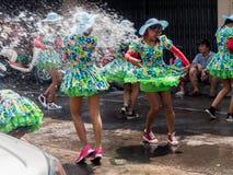 Chonburi, THAILAND-APRIL 13: Chonburi Songkran festival. The parade annual Chonburi Songkran festival .on April 13,2016 in Chonburi,Thailand Royalty Free Stock Photography