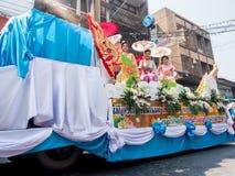 Chonburi, THAILAND-APRIL 13: Chonburi Songkran festival. The parade annual Chonburi Songkran festival .on April 13,2016 in Chonburi,Thailand Stock Photos