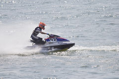 Competition jet ski. Stock Photos