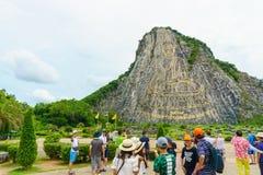 Chonburi, Thailand - July 6, 2016: Khao Chee Chan Pattaya , Thailand. Chonburi, Thailand - July 6, 2016: Khao Chee Chan Pattaya Thailand royalty free stock photo