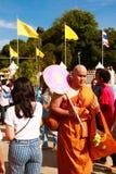 New  Buddhist monk   Stock Photography