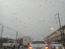 CHONBURI, THAILAND MÄRZ 09,2018: Chonburi-` s Gewitter im März stockfoto