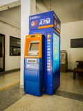 Chonburi, THAILAND - MAY 13, 2017: Bangkok Bank ATM in Apartment Stock Photography